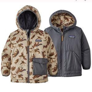 Patagonia Reversible Puff ball jacket 5T